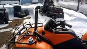 2001 Honda Rancher 350 Snorkel