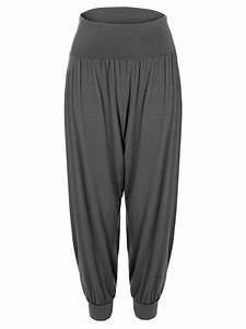 Ladies Womens Baggy Harem Pants Trousers Loose Fit Ali ...