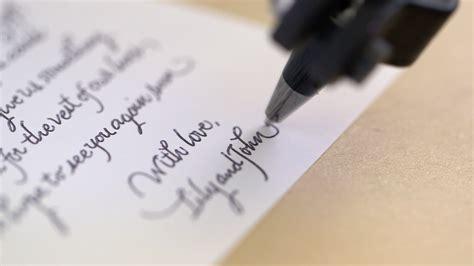 bond robot  write   handwriting  send letters