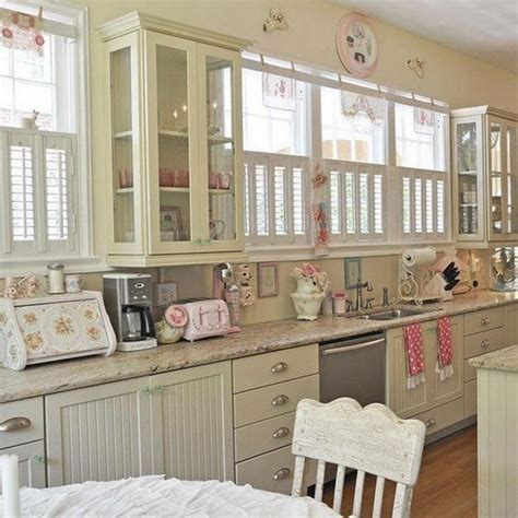 Chic Kitchen Decorating Ideas by 35 Awesome Shabby Chic Kitchen Designs Accessories And