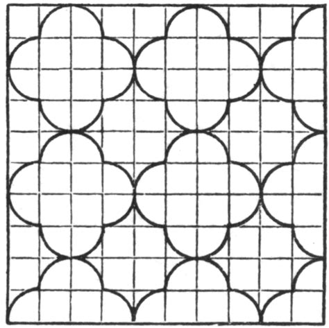 Free Leaf Tessellations Coloring Pages