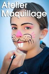 Maquillage Enfant Facile : atelier maquillage maquillages pour adultes et enfants ~ Melissatoandfro.com Idées de Décoration