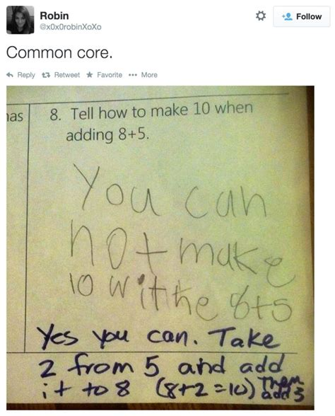 Kid Shows Exactly Why The Common Core Math Doesn't Add Up