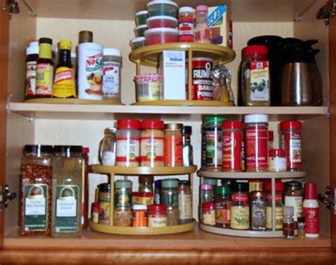 Carousel Spice Rack Organizer by Modern Kitchen Accessories For Spices Storage