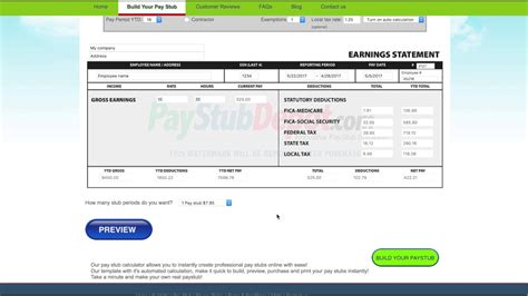 Free Resume Generator Software by Check Stub Creator Resume Format Paycheck Maker Software