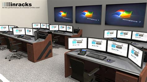summit enterprise noc furniture gallery  inracks consoles