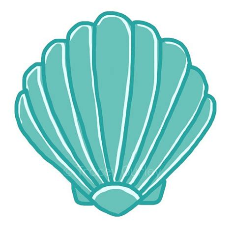 starfish wedding invitations turquoise scallop shell original 2 files