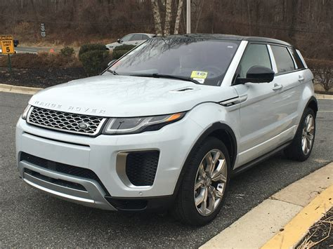 2018 New Land Rover Range Rover Evoque 5 Door 286hp
