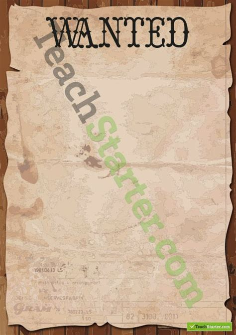 wanted poster template page borders labels page