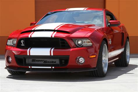 ford mustang shelby cobra gt super snake engine information