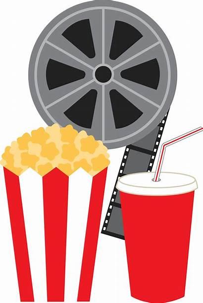 Clip Clipart Film Popcorn Theater Cinema Party