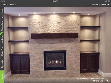 fireplace side shelves 25 best images about tv wall on
