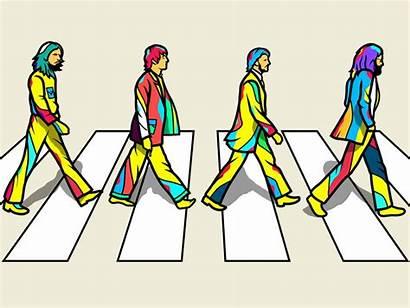 Abbey Road Dribbble Artwork Icon Orton