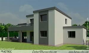 great awesome maison toit terrasse dijon sud with maison With maison toit plat prix au m2