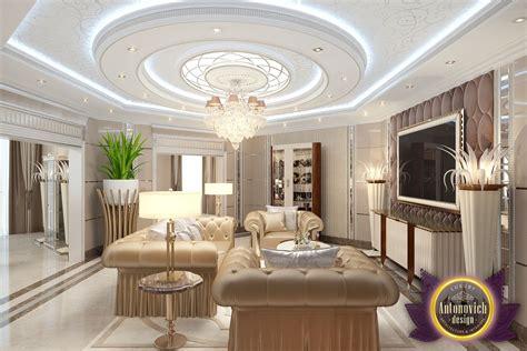 Living Room Decoration Ideas By Luxury Antonovich Design
