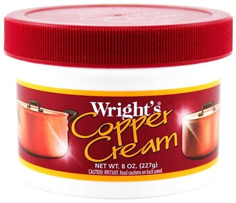 wrights copper cream paste cleaner clean polish cookware jewelry wrights  ebay
