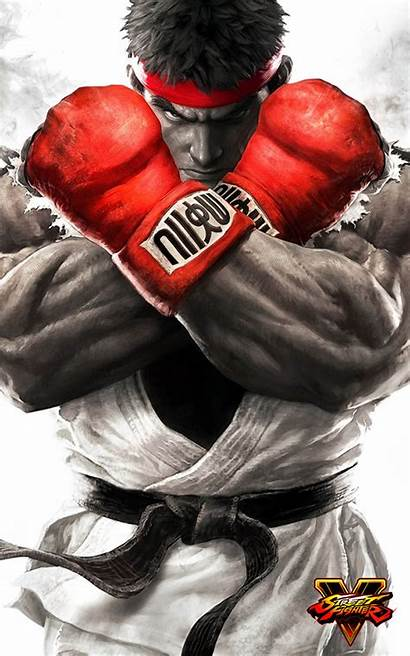 Fighter Street Wallpapers Ryu Mobile Poster Fighting