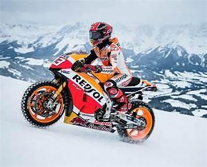 Pneu Neige Moto : le pilote de moto gp marc m rquez chausse les pneus neige ~ Melissatoandfro.com Idées de Décoration
