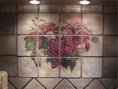 grape kitchen theme   Examples of Kitchen Backsplashes