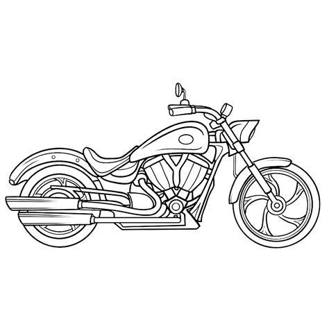 Kleurplaat Crossmotors by Leuk Voor Motor 0004