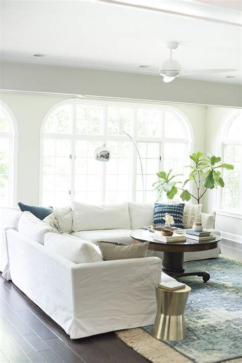 White Living Room Arm Chairs by How We Choose White Slipcovered Sofas Room For Tuesday