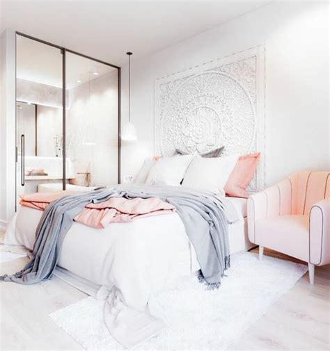 chambre lit blanc 1001 conseils et idées pour une chambre en et gris