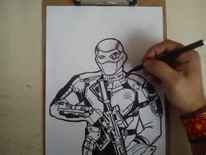 How to Draw Deadshot Suicide Squad
