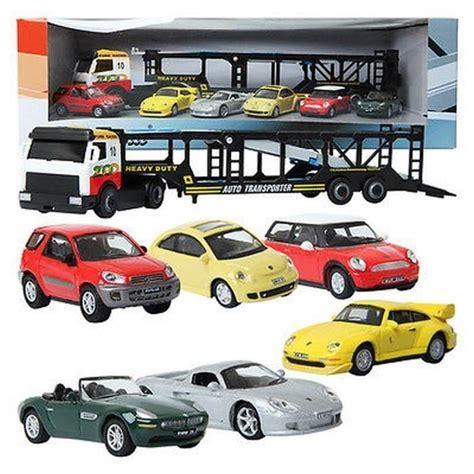 Cararama Carrier Car & 6 Types Mini Car / 1