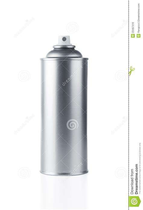 Blank Spray Can Stock Photo  Image 23467410