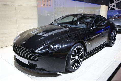 View Of Aston Martin V12 Vantage Carbon Black Photos