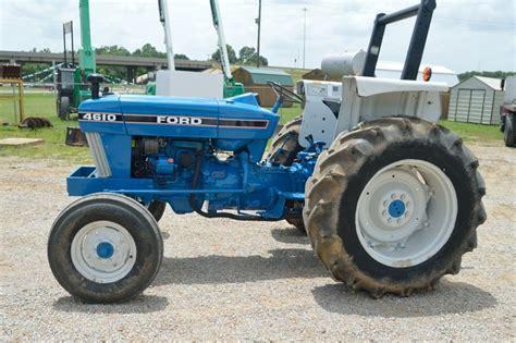 Ford 4610 Diesel Tractor  60 Horsepower  Dual Hydraulics