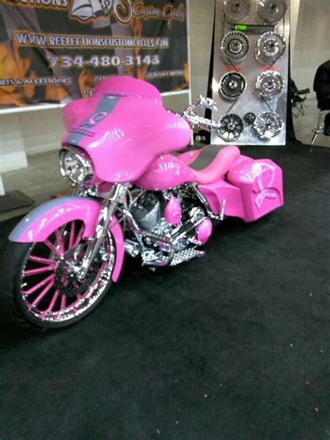 pink motorcycleif        ride