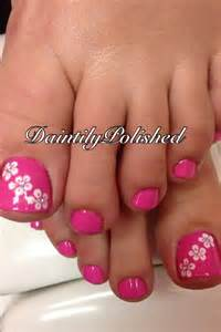 Ideas about pink toes on toe nails
