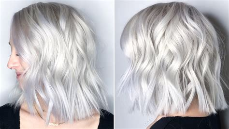 baby white hair color trend   light