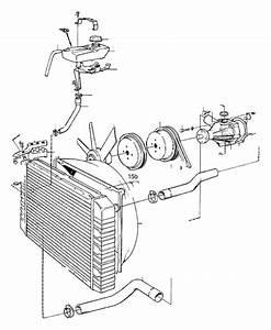 Volvo 760 Engine Water Pump Gasket  System  Cooling