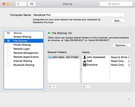 How To Connect With File Sharing On Your Mac