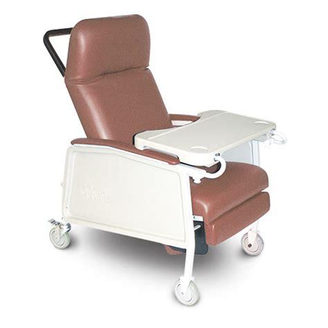 geri chair with tray 500 gc 3pm chair geri recl 3 position w tray 250lb cap
