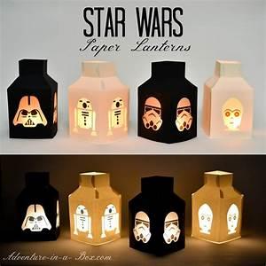 Star Wars Lantern Templates - Adventure in a Box