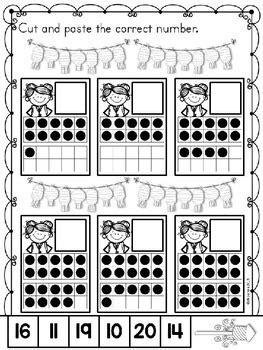 chinese  year  math worksheets  kindergarten