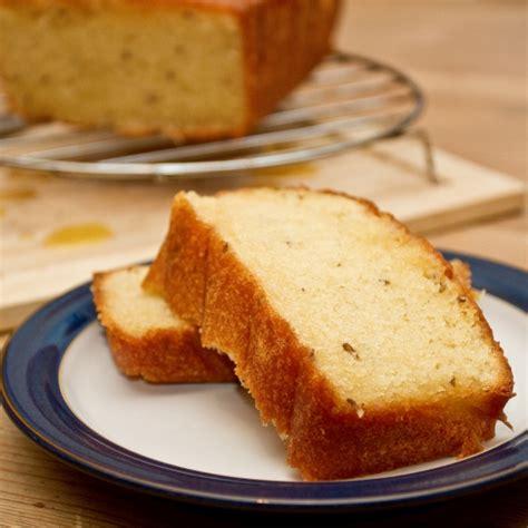 orange  caraway cake   im eating