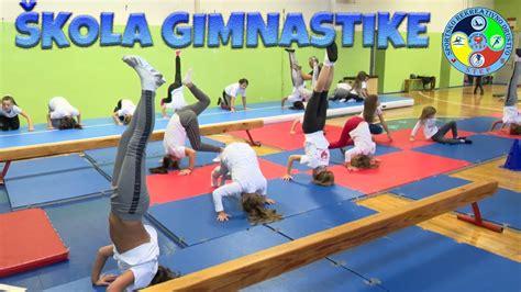 Škola gimnastike - Školica sporta STEP - YouTube