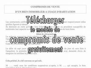 Documents Pour Compromis De Vente : mod le de compromis de vente gratuit entre particuliers ~ Gottalentnigeria.com Avis de Voitures