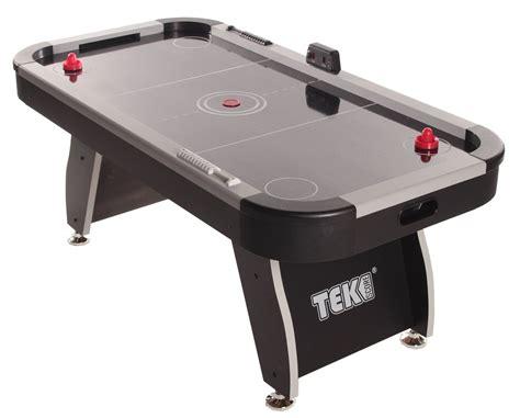 air hockey table game tekscore jet 6ft air hockey table liberty games