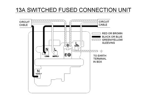 13a fused spur wiring diagram ring diagram wiring