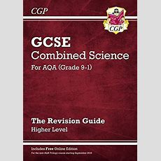 New Grade 91 Gcse Combined Science Aqa Revision Guide With Online Edition 9781782945598