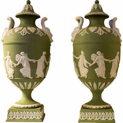 Wedgwood Jasperware Urns Presentation