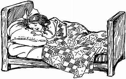 Clipart Couch Sketch Transparent Digital Bed Sleeping