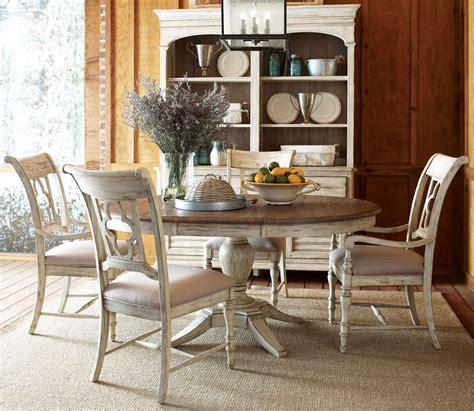 weatherford cornsilk milford  dining room set