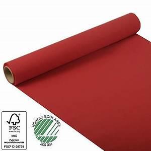 Tischläufer 40 Cm Breit : roter tischl ufer aus tissue 5m rolle 40cm breit party ~ Markanthonyermac.com Haus und Dekorationen