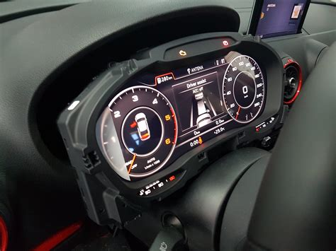 audi  retrofitted  virtual cockpit